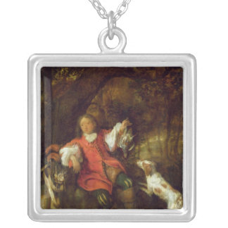 The Huntsman Square Pendant Necklace