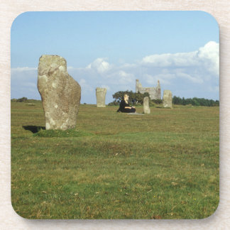 The Hurlers on Bodmin Moor, Cornwall souvenir Coaster
