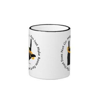 The Hurt Does Not Go Away 11oz Ringer Mug