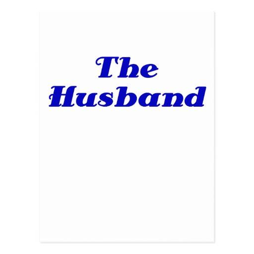 The Husband Post Card
