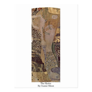 The Hydra By Gustav Klimt Postcard