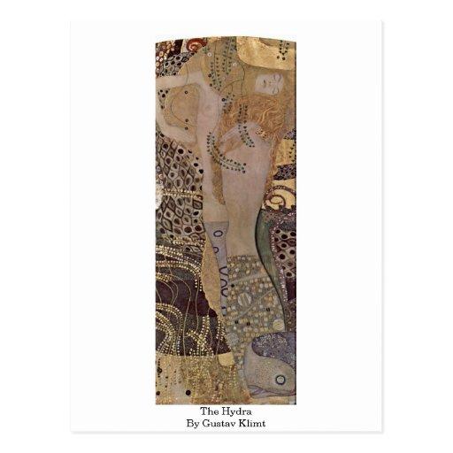 The Hydra By Gustav Klimt Post Cards