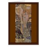 The Hydra By Klimt Gustav Cards