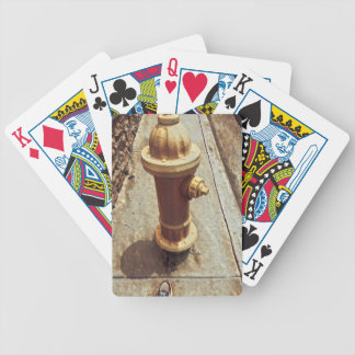 The Hydrant Bicycle Playing Cards