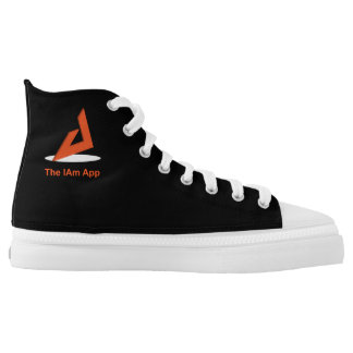 The IAm High Top Printed Shoes