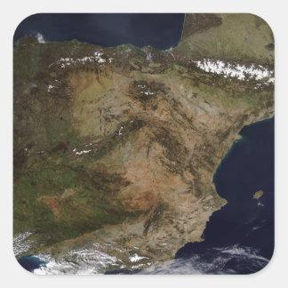 The Iberian Peninsula Square Sticker
