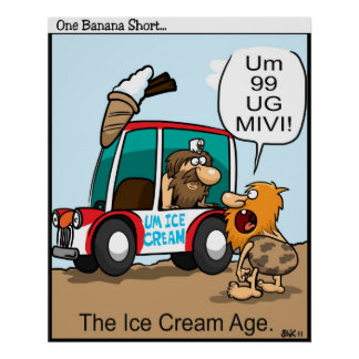 The Ice Cream Age Poster