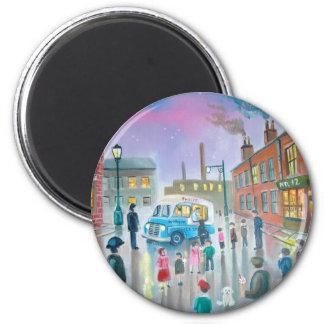 The Ice Cream Van oil painting Magnet
