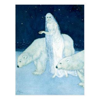 The Ice Maiden Fine Art Postcard