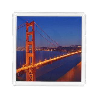 The iconic bridge with San Francisco Acrylic Tray