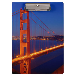 The iconic bridge with San Francisco Clipboard