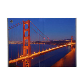 The iconic bridge with San Francisco Cover For iPad Mini