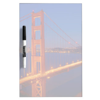 The iconic bridge with San Francisco Dry Erase Board