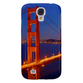 The iconic bridge with San Francisco Galaxy S4 Case
