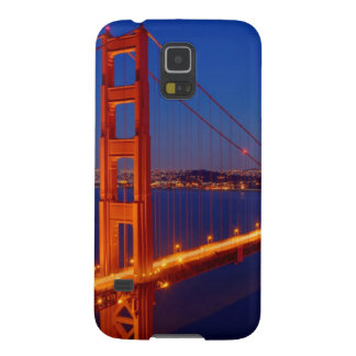 The iconic bridge with San Francisco Galaxy S5 Case