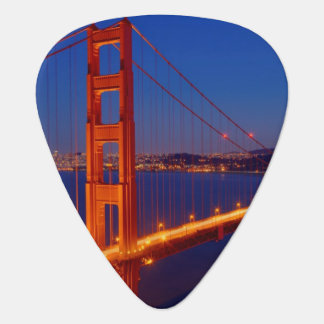 The iconic bridge with San Francisco Guitar Pick