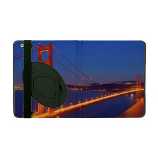 The iconic bridge with San Francisco iPad Case