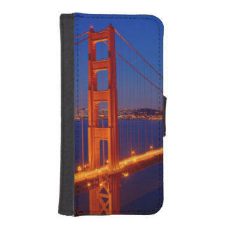 The iconic bridge with San Francisco iPhone SE/5/5s Wallet Case