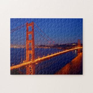 The iconic bridge with San Francisco Jigsaw Puzzle