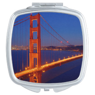 The iconic bridge with San Francisco Makeup Mirror