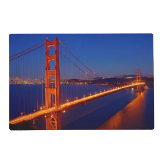 The iconic bridge with San Francisco Placemat