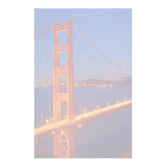 The iconic bridge with San Francisco Stationery