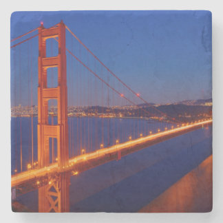 The iconic bridge with San Francisco Stone Coaster
