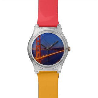 The iconic bridge with San Francisco Watch