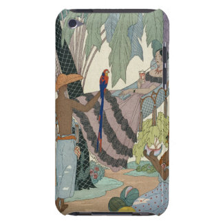 The idle beauty (pochoir print) iPod touch cases
