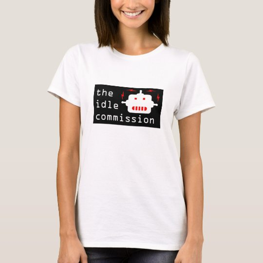 the idle commission women's t-shirt robot
