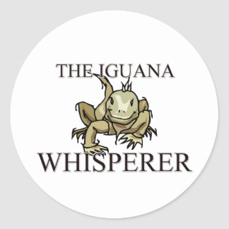 The Iguana Whisperer Classic Round Sticker