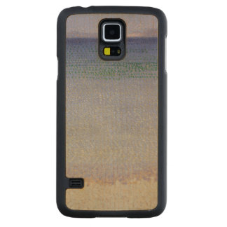 The Iles d'Or (The Iles d'Hyeres, Var) Carved Maple Galaxy S5 Case