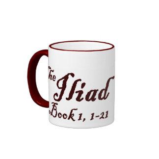 The Iliad Ringer Mug