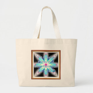 The Illusion Fades and Bliss Pervades! - Le❣f ☮ ☯ Canvas Bags