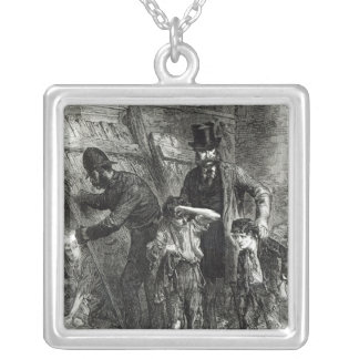 The Illustrated London News' Silver Plated Necklace