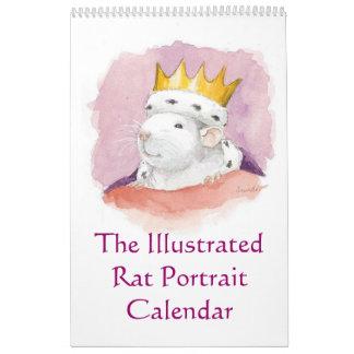 The Illustrated Rat Portrait Calendar