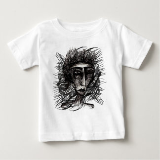 The Illustration Mind Face Sketch Baby T-Shirt