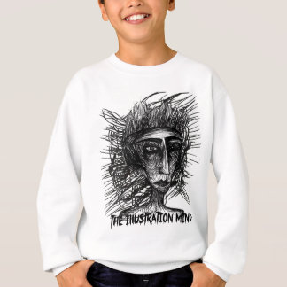 The Illustration Mind Face Sketch Sweatshirt
