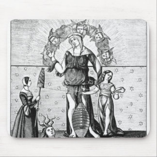 The Image of Dame Astrology with the Three Mouse Mat