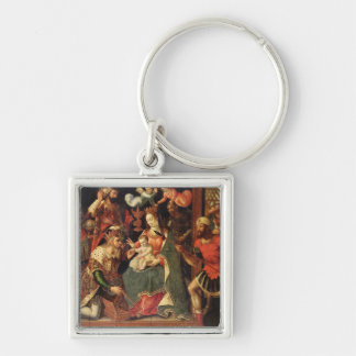 The Image of the Adoration of the Magi Key Ring