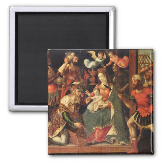 The Image of the Adoration of the Magi Magnet