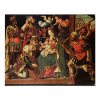 The Image of the Adoration of the Magi Poster