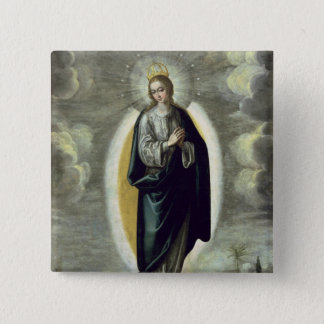 The Immaculate Conception 15 Cm Square Badge