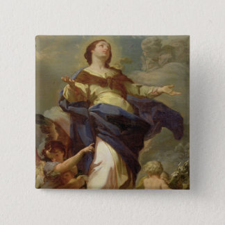 The Immaculate Conception 2 15 Cm Square Badge