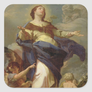 The Immaculate Conception 2 Square Sticker