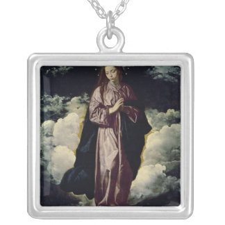 The Immaculate Conception, c.1618 Silver Plated Necklace