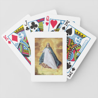 The Immaculate Conception, c.1628-30 (oil on canva Bicycle Playing Cards