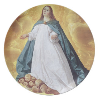 The Immaculate Conception, c.1628-30 (oil on canva Dinner Plates