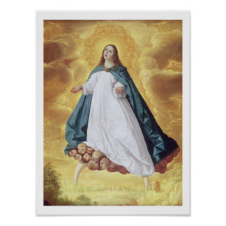 The Immaculate Conception, c.1628-30 (oil on canva Poster