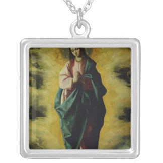 The Immaculate Conception, c.1630-35 Silver Plated Necklace